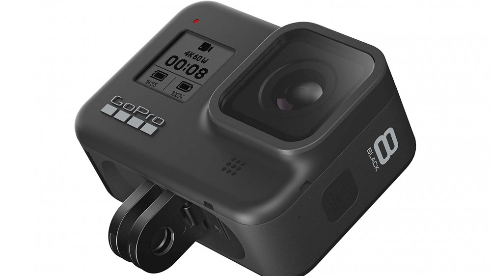 Una foto de la cámara de acción GoPro HERO8 Black.
