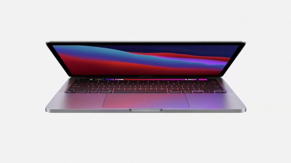Una MacBook con tecnología M1
