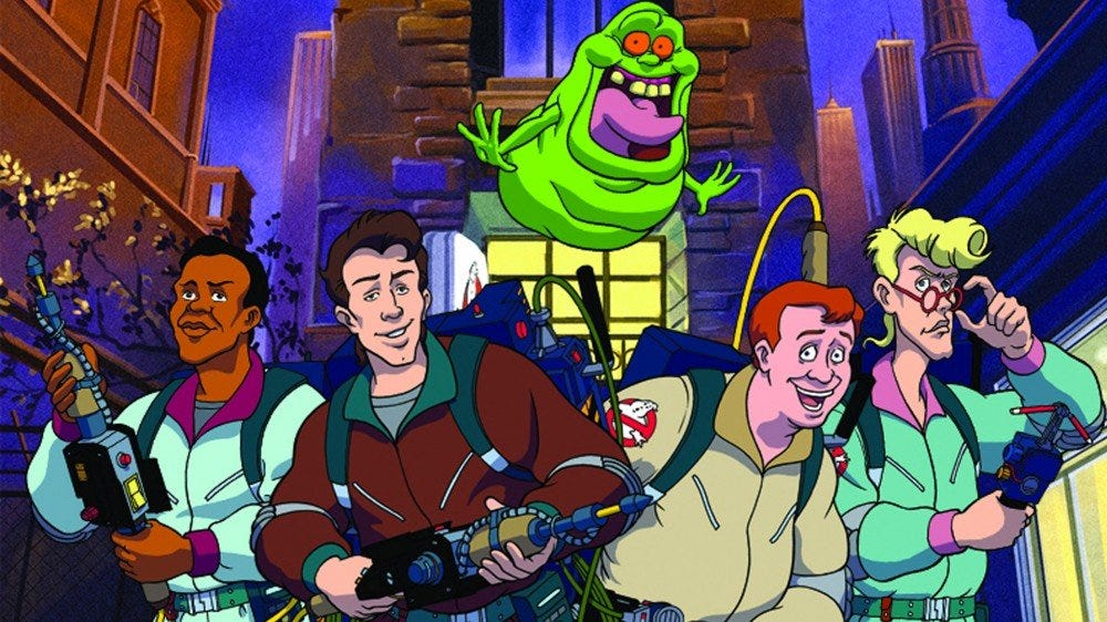 Foto promocional de The Real Ghostbusters